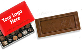 Your Logo On Chocolates