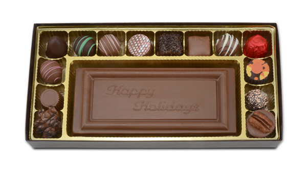 Custom Chocolate Bar with Gift Box